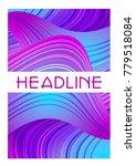 vector cover or banner template ...   Shutterstock .eps vector #779518084