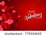 happy valentine's day  web... | Shutterstock . vector #779534035