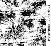 black and white grunge... | Shutterstock .eps vector #779575471