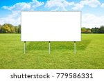 Blank Advertising Billboard In...