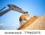 A Large Construction Excavator...
