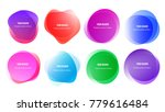 abstract blur shapes color... | Shutterstock .eps vector #779616484