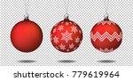 set of realistic transparent...   Shutterstock .eps vector #779619964
