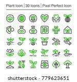 plant line icon editable stroke ... | Shutterstock .eps vector #779623651