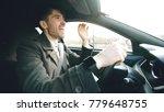 happy handsome businessman... | Shutterstock . vector #779648755