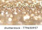 christmas light background. ... | Shutterstock . vector #779650957