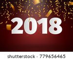 happy new year background... | Shutterstock .eps vector #779656465