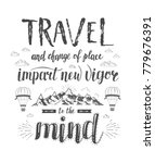 travel. vector hand drawn... | Shutterstock . vector #779676391