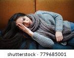 flu cold or allergy symptom... | Shutterstock . vector #779685001