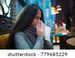 flu cold or allergy symptom... | Shutterstock . vector #779685229