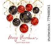 holiday lettering merry... | Shutterstock . vector #779688361