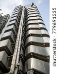 London, United Kingdom - October 30th, 2017:- The Lloyds of London insurance building - stock photo
