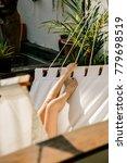 close up of a legs of beautiful ... | Shutterstock . vector #779698519