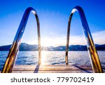 tegernsee lake in bavaria - germany - photo - stock photo