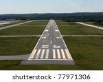 runway approach at a rural... | Shutterstock . vector #77971306
