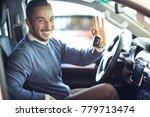 happy handsome mature man... | Shutterstock . vector #779713474