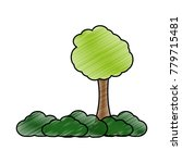 isolated tree design | Shutterstock .eps vector #779715481