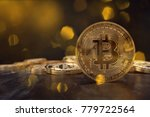 a 3d rendering from a crypto... | Shutterstock . vector #779722564