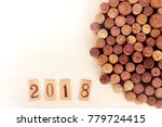 wooden plaques with figures of... | Shutterstock . vector #779724415