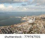 aerial view of lelystad ... | Shutterstock . vector #779767531