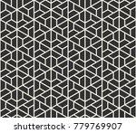 vector seamless lines pattern.... | Shutterstock .eps vector #779769907