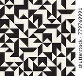 irregular tangled shapes.... | Shutterstock .eps vector #779769991