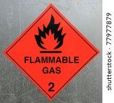 Flammable Gas Hazard Warning...