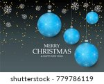 christmas light vector... | Shutterstock .eps vector #779786119