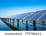 photovoltaics in solar power... | Shutterstock . vector #779786611