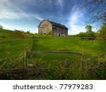 Rural Ontario Farm Scene Of An...