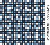 square pattern. seamless vector | Shutterstock .eps vector #779793241