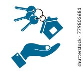 icons in the form keys and a...   Shutterstock .eps vector #779803681