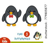 find differences  education... | Shutterstock .eps vector #779805877