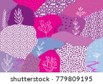 creative geometric colorful... | Shutterstock .eps vector #779809195