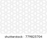 simple geometric seamless... | Shutterstock .eps vector #779825704