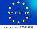 markets in financial... | Shutterstock . vector #779865757