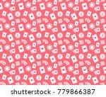 poker seamless pattern | Shutterstock . vector #779866387