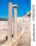 Small photo of Colonnaded street, ruins of ancient Patara, Antalya Province, Turkey.