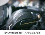 professional dj headphones   Shutterstock . vector #779885785