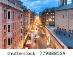 view from the top of viale xx... | Shutterstock . vector #779888539