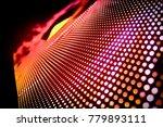 abstract led panel art    Shutterstock . vector #779893111