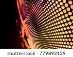 abstract led panel art  | Shutterstock . vector #779893129