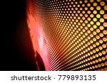 abstract led panel art  | Shutterstock . vector #779893135