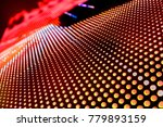 abstract led panel art  | Shutterstock . vector #779893159