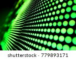 abstract led panel art  | Shutterstock . vector #779893171