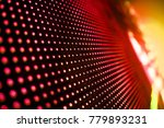 Small photo of Abstract LED Panel art