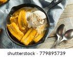homemade sauteed bananas foster ... | Shutterstock . vector #779895739