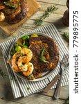 gourmet homemade steak and...   Shutterstock . vector #779895775
