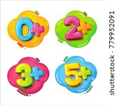 kids age restrictions. cartoon... | Shutterstock .eps vector #779952091