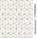vector seamless pattern. modern ...   Shutterstock .eps vector #779960854